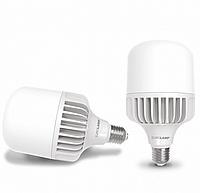 Лампа светодиодная EUROLAMP LED 50W E40 6500K 5200 Lm высокомощная промышленная (LED-HP-50406)