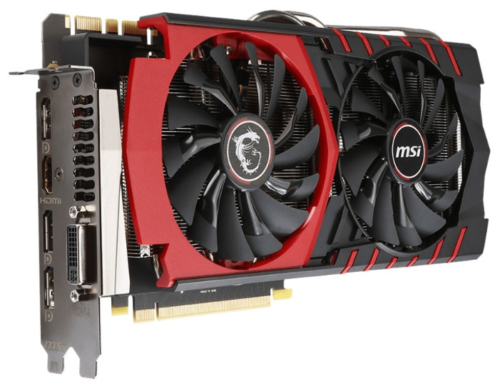 "Видеокарта MSI Gaming GTX980 4GB GDDR5 ""Over-Stock"""