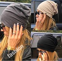 Молодежная женская шапка (К11836)