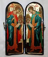 Складень Михаил и Гавриил архангелы 300х100