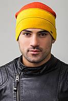 Мужская шапка RISE UniX, желтый/оранжевый/белый