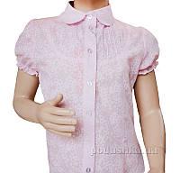 Блуза Батист Промiнь ВД-1550 а розовая 134