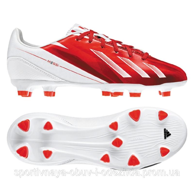 Детские футбольные бутсы Adidas F10 Messi TRX FG Y G65356  продажа ... 9a23e801508ea