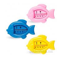 Термометр для воды Рыбка Lindo Pk 008  цвет: розовый