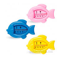 Термометр для воды Рыбка Lindo Pk 008  цвет: желтый