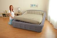 Надувная кровать Intex 67972 со встроенным электронасосом