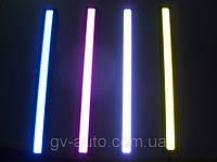 Фары дневного света - DRL - 17 см , желтые , красные , синие , фото 1