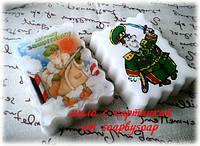"""Мыло открытка  к """"23 февраля"""""""