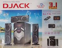 Акустическая система DJACK DJ-T13L (DJ-T3L) DJACK Аудио bluetooth Динамик 3.1 Сабвуфер 60 Вт с Bluetooth, FM,