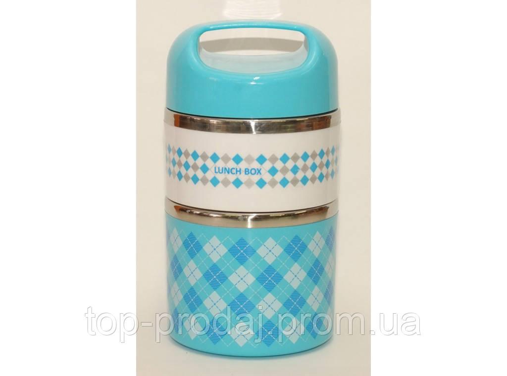 Термос для еды, пищевой термос, lunch box, ланч бокс для еды из нержавеющей стали, термо ланч бокс