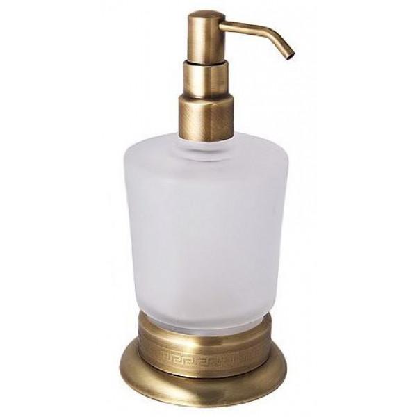 alis Дозатор для жидкого мыла настольный Alis Versace V026, бронза