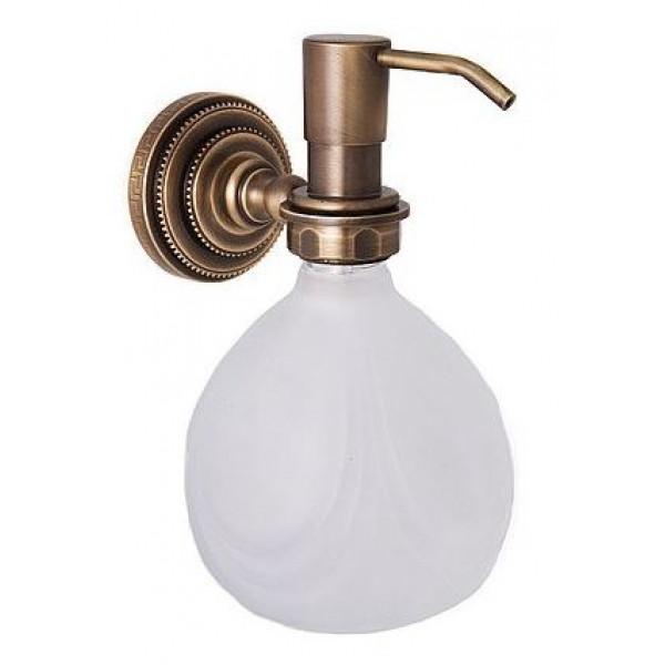 alis Дозатор для жидкого мыла настенный Alis Versace V040, бронза