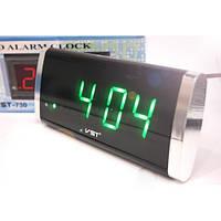 Электронные сетевые настольные часы 730 - 4