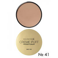 Пудра компактная Creme Puff Pressed Powder 41 Medium Beige Max Factor