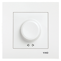 Регулятор яркости света(диммер) 1000w белый VIKO KARRE 90960069