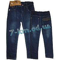 Брюки для мальчиков PaHh012 джинс 6 шт (6-12 лет)