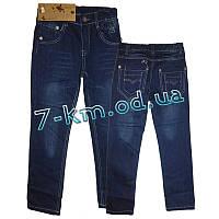 Брюки для мальчиков PaHh017 джинс 6 шт (6-12 лет)
