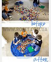 Коврик-сумка для игр и хранения игрушек - Queens Toy Storage Bag (диаметр 100 см)