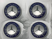 Mercedes E-klass W212 Колпачки в титановые диски 65 мм (4 шт)