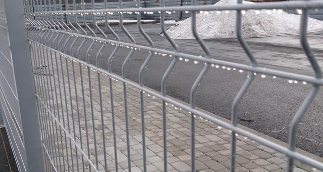 Панельний паркан 3D