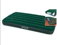 "Intex Матрас надувной туристический ""Downy Bed Twin"". Intex 66927***"
