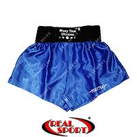 Шорты для тайского бокса Muay Thai (муай-тай) синие