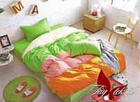 Полуторный комплект постельного белья ТМ TAG Color mix APT009
