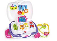 Игровой набор «Huile Toys» (3107) Чемоданчик доктора (звук. эффекты)