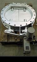 Серия LR – поворотная заслонка типа «жалюзи» Ду 65 мм