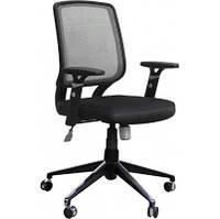 Кресло Онлайн Алюм сиденье Сетка черная/спинка Сетка черный