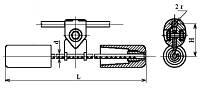 Гаситель вибрации ГПГ-2,4-11-550/23