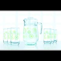 Lum.Green Flakes.Набір/вода(глеч.1,6л,склян.310мл-6шт)-7пр.Е