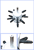 Перосъемная насадка на дрель или шуруповерт ПСМ-1 (малая)