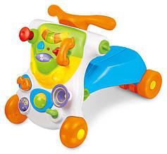 Развивающие и обучающие игрушки «Weina» (2121) ходунки-каталка Верхом развивающий центр 2 в 1