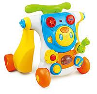 Развивающие и обучающие игрушки «Weina» (2130) ходунки-каталка Верхом на роботе развивающий центр 2 в 1