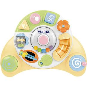 Развивающие и обучающие игрушки «Weina» (4001.303.54) ходунки-каталка Карусель, фото 2