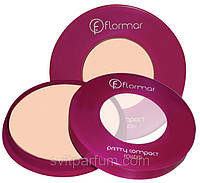 Компактная пудра для лица Flormar Pretty Compact Powder, Флормар