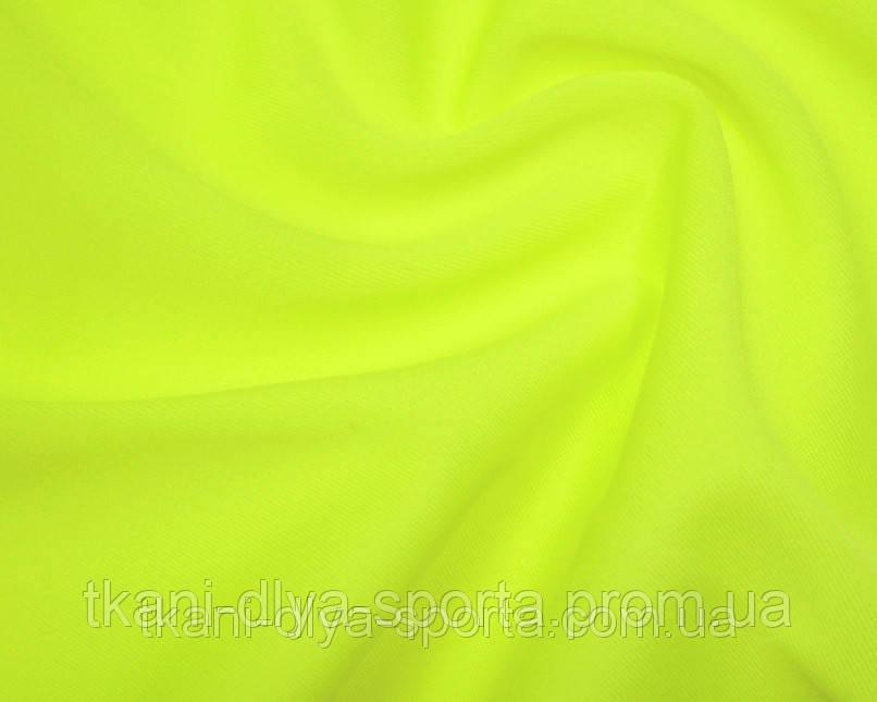 Бифлекс с нежным блеском ярко-лимонный fluo