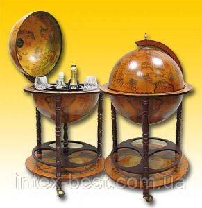 Глобус-бар для напитков JG45001R