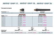 Вентильная аргоновая горелка ABITIG 17V (4м) производство Германия, фото 3