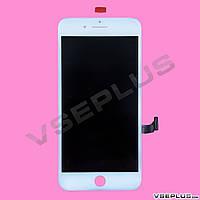 Дисплей (экран) Apple iPhone 7 Plus, белый, с сенсорным стеклом