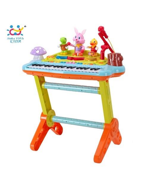 Детский музыкальный инструмент «Huile Toys» (669) электронное пианино