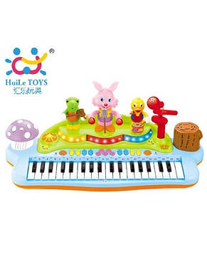 Детский музыкальный инструмент «Huile Toys» (669) электронное пианино, фото 2