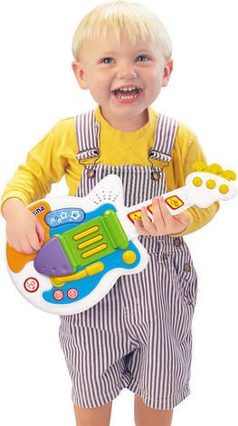 Детский музыкальный инструмент «Weina» (2099) рок-гитара, фото 2