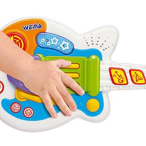 Детский музыкальный инструмент «Weina» (2099) рок-гитара, фото 3