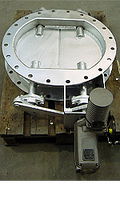 Серия LR – поворотная заслонка типа «жалюзи» Ду 1500мм