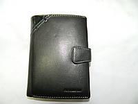 Мужской кожаный кошелёк-портмоне для денег и документов фирмы FUTUREBORN