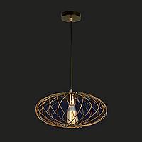 Потолочный подвесной светильник [ LOFT Basket Sphere-C ] Bronze