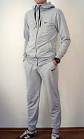 Мужской трикотажный спортивный костюм NIKE найк с капюшоном
