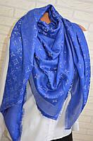 Шикарный платок женский Louis Vuitton с люрексом